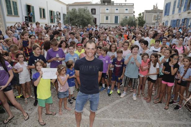 Nach der Spanien-Rundfahrt im vergangenen Jahr wurde Enric Mas in Artà begeistert empfangen. So hätte er es auch im Anschluss an
