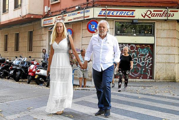 Cursach mit Ehefrau in Palma de Mallorca.