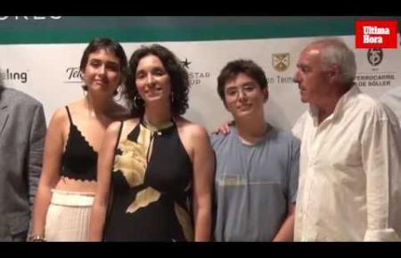 Video zur Eröffnung der Foto-Ausstellung über den Flameco-Stargitarristen Paco de Lucía im Museum Es Baluard in Palma.