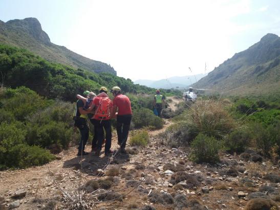 Immer wieder muss die Guardia Civil wegen verunglückter Wanderer zu Rettungseinsätzen ausrücken.