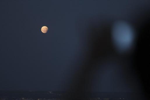 Mondfinsternis im Jahr 2017.