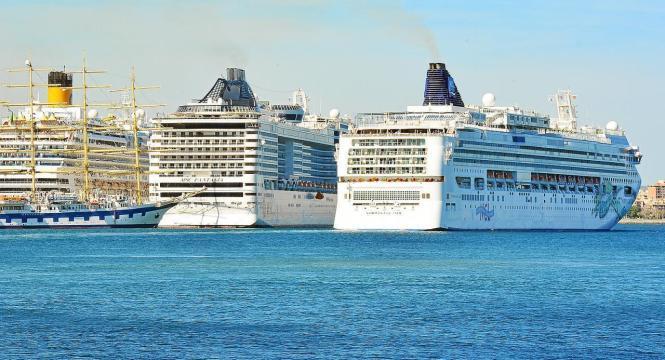 Fast 300 Kreuzfahrtschiffe machen in diesem Somer in Palma fest.