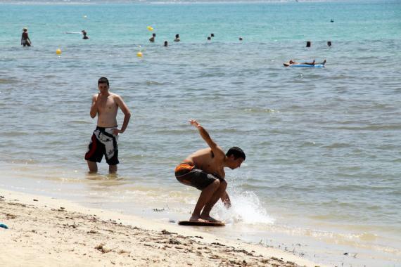 Blick auf die Playa de Palma.