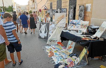 Die Kunstnacht in S'Arracó ist ein Besuchermagnet.