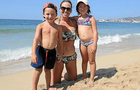"""""""Eine Katastrophe"""", sagt Cristina über die Strandsperrungen im vergangenen Jahr."""