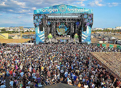 Die Argentinierin hatte das Origen Festival in Son Fusteret besucht.