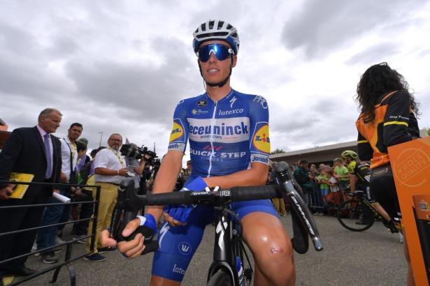 Der Mallorquiner Enric Mas ist zum ersten Mal bei der Tour de France am Start. Ihm wird eine große Radsport-Zukunft vorausgesagt