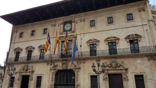 Das Rathaus von Palma.