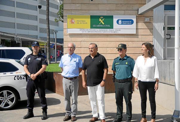 Die Guardia Civil eröffnete am 23. Juli eine neue Wache inmitten des Ferien-Hotspots an der Punta Ballena in Magaluf.