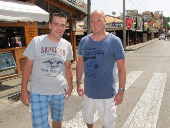 DJ Biene (rechts) mit DJ Mambo.