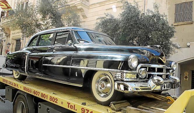 Die Luxuskarosse des Banca March-Gründers ist ein Nachbau des Wagens, mit dem er 1962 tödlich verunglückte.
