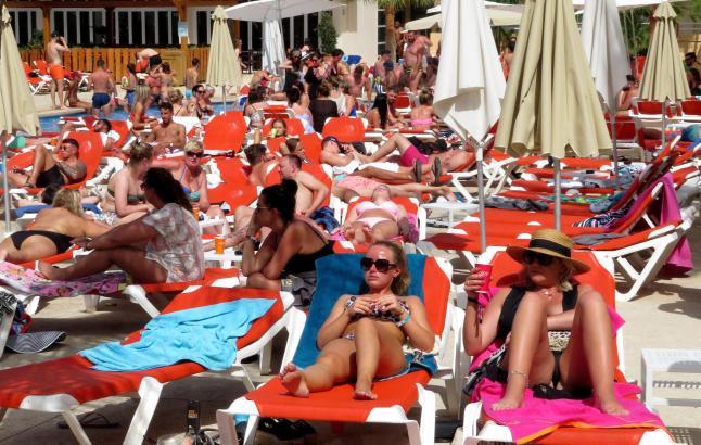 Diesen Sommer buchen deutlich weniger Briten Mallorca. Einer ihrer Hotspots ist und bleibt aber Magaluf.