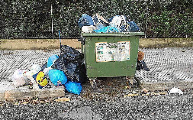 Wenn die Müllabfuhr streikt, zeigt sich das rasch im Stadtbild.