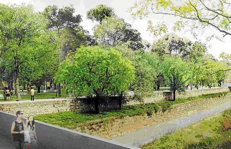 """Der Park in Palmas Stadtteil Camp Redó gilt als """"Central Park Palmas"""" und soll dank der Einnahmen aus der Touristensteuer umgestaltet werden."""