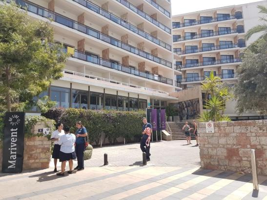 Der Vorfall ereignete sich in einem Hotel in Cala Major.