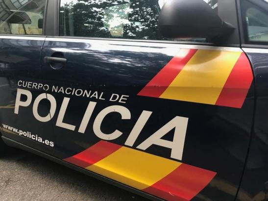 Die Nationalpolizei war im Einsatz.