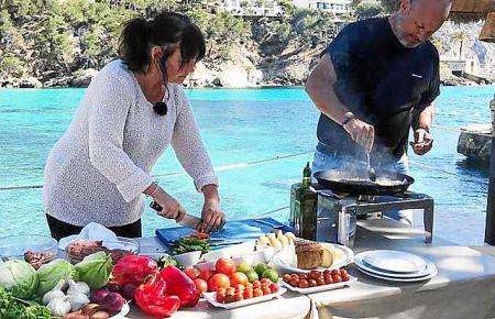 Nathalie und Frank Rosin kochen gemeinsam.