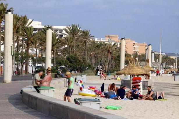 Wieder kam es an der Playa de Palma zu einem hässlichen Zwischenfall.