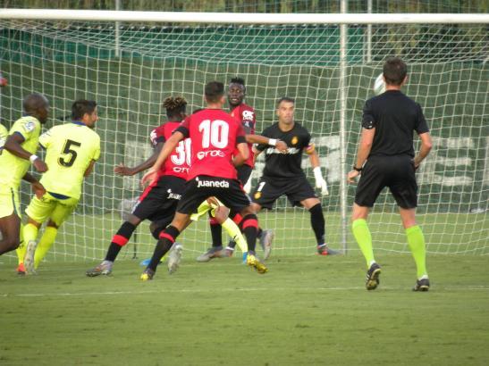 Torchancen gab es in der Partie Real Mallorca gegen den FC Getafe auf beiden Seiten. Der Ball wollte aber nicht reingehen.