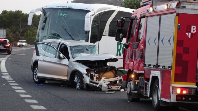 Bei Portocolom ist eine 87-Jährige mit einem Bus kollidiert. Sie starb noch an der Unfallstelle.