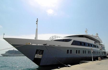 Wer hier mitfahren will, muss schlappe 550.000 Euro für eine Woche zahlen.