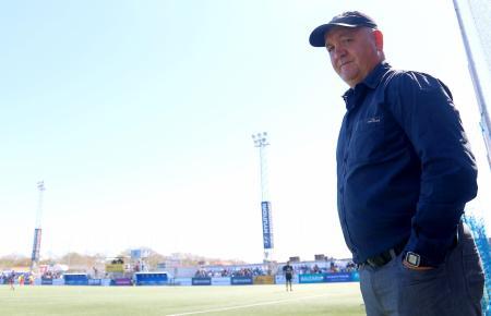 Trainer Manix Mandiola ist zurzeit um seinen Job nicht wirklich zu beneiden.