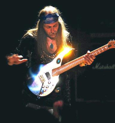 Fünf Jahre lang war Uli Jon Roth Leadgitarrist der Scorpions.