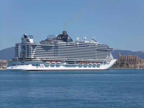 Kreuzfahrtschiffe - Gift für die Umwelt.