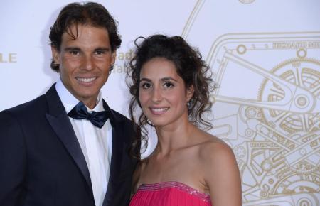 Nadal und seine Angetraute.