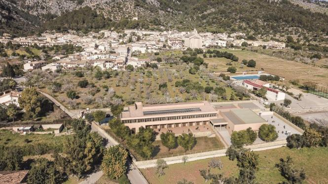 Luftbild von Caimari.