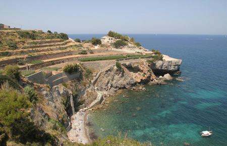 Die Bucht von Banyalbufar ist schwer zugänglich.