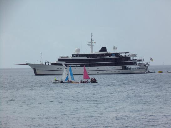 Die Chakra schippert seit 1963 durch die Weltmeere.