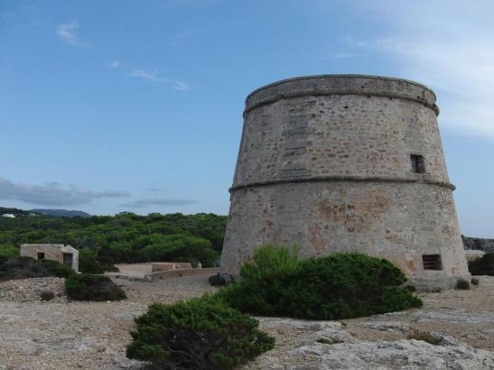 Blick auf den Rovira-Turm.
