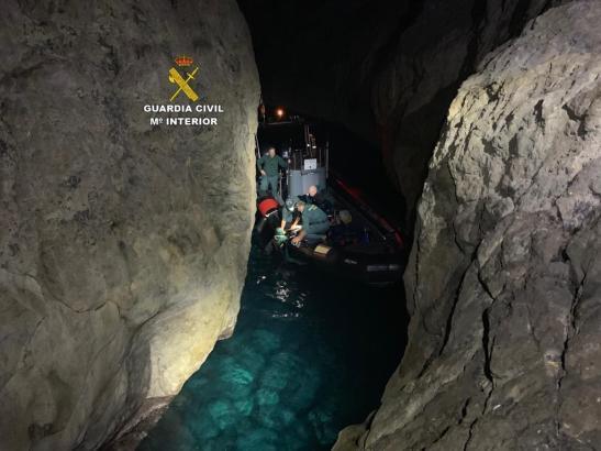 Bilder von der Rettungsaktion.