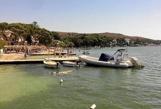 Zirka 85 Prozent der Bootseigentümer entfernten ihre ankernden Wassergefährte freiwillig aus der Badezone von Pollença.