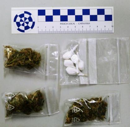 Diese Drogenpäckchen stellte die Polizei sicher.