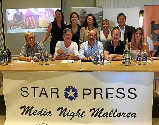 Mitarbeiter des Teams von Star Press.