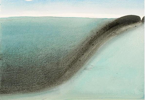 Wellen im Meer: In ihren Arbeiten greift Anna Kott Elemente der Natur auf.