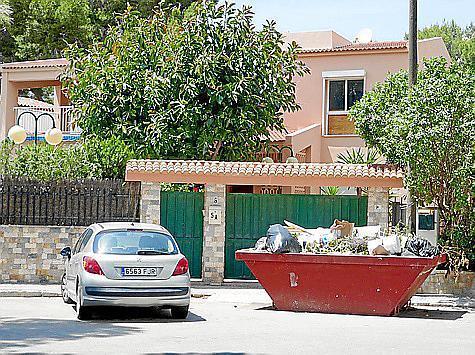 Dieses Haus an der Playa de Palma war besetzt worden.