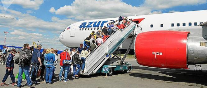 Azur Air fliegt von Osteuropa nach Mallorca.