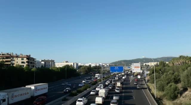 Autobahn auf Mallorca.