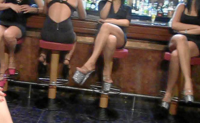 Prostituierte in einem Bordell.