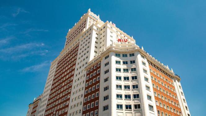"""Das neue Hotel im """"Edificio España""""."""