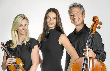 Das Trio Odyssea gastiert am Sonntag im Hotel Can Bonico in Ses Salines.