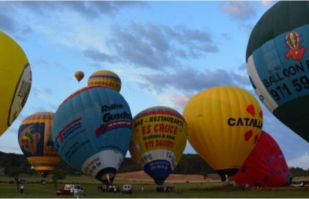 Ballons auf Mallorca, ein Augenschmaus.