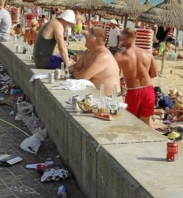 Solche Bilder will die Balearen-Regierung nicht mehr sehen.