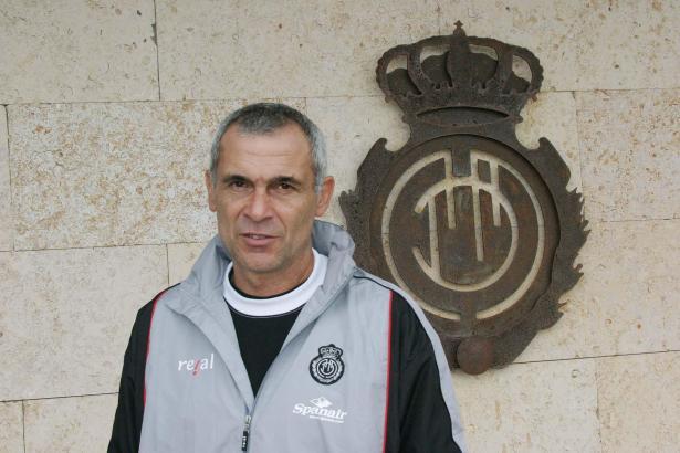Héctor Cúper 2004 als Trainer von Real Mallorca.