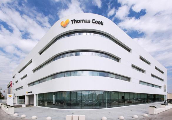 Der Thomas-Cook-Sitz in Palmas Gewerbegebiet Son Valentí.