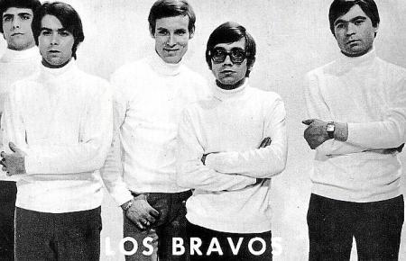 Los Bravos hatten 1966 ihren internationalen Durchbruch.