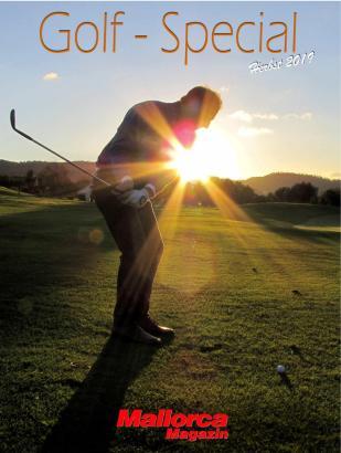 So sieht die Titelseite der MM-Golfbeilage aus.
